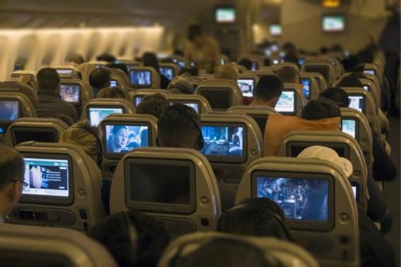 Tv-schermpjes verdwijnen uit het vliegtuig