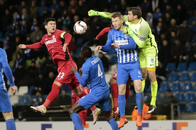 Genk bereikt voor het eerst in geschiedenis 1/8ste finales Europa League