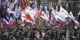 Woedende Russen eisen duidelijkheid over moord op opposant Nemtsov