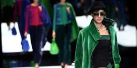 Zien. Modeweek Milaan eindigt met kleurrijke Armani