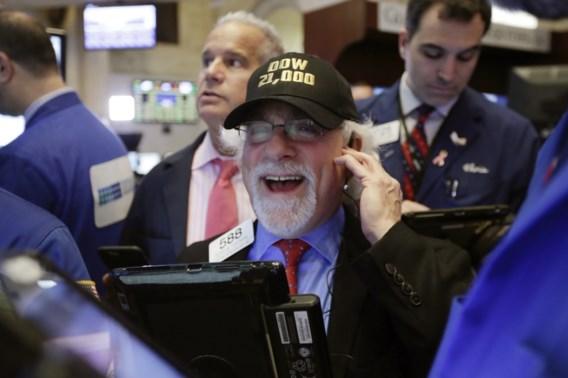 Beleggers kunnen geluk niet op