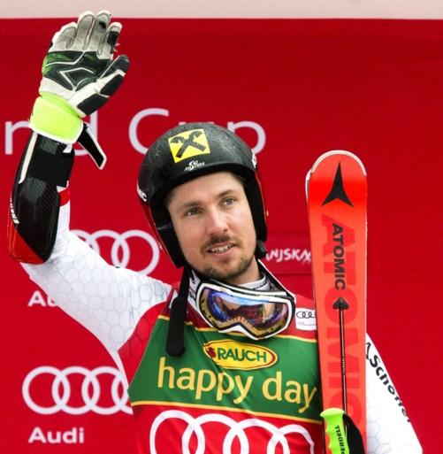 Marcel Hirscher pakt record met zesde Kristallen Globe op rij