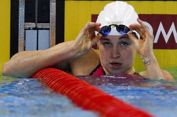Fanny Lecluyse pakt ook op 200m schoolslag tweede plaats in Marseille