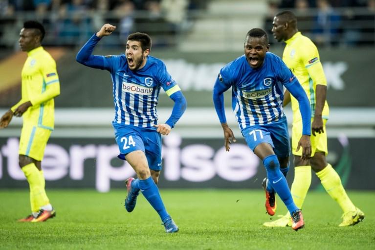 Genk quasi zeker van kwartfinales na spektakelmatch tegen Gent
