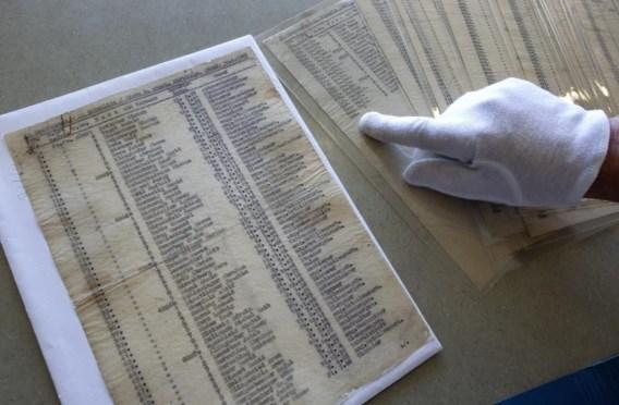 Originele 'Schindler's List' geveild