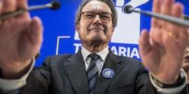 Twee jaar geen publieke meetings voor Artur Mas