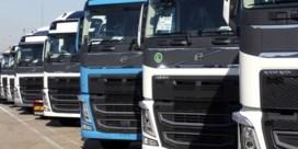 De band ligt stil bij Volvo Trucks in Oostakker