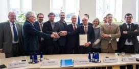 Historisch akkoord over Oosterweel: 'Voorbeeld voor de toekomst'