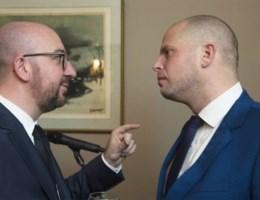 Michel: 'Francken draait best 7 keer duim om voor hij tweet'