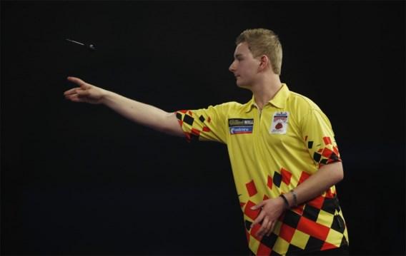 Dimitri Van den Bergh plaatst zich voor tweede ronde op German Darts Championship