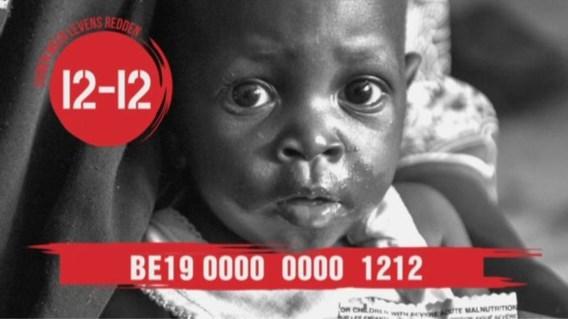 VRT, Medialaan en SBS steunen 'Hongersnood 12-12'