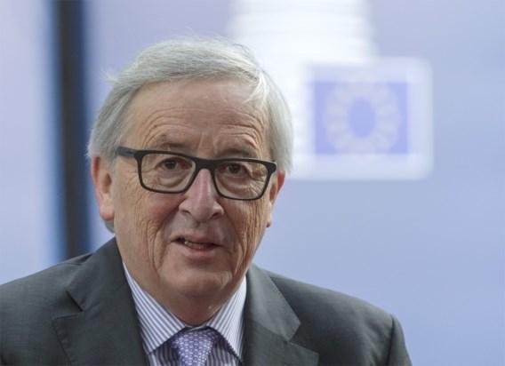 Juncker: 'Brexit zal Britten 58 miljard euro kosten'