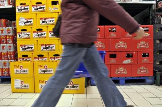 'Belg dronk ook vorig jaar minder Jupiler'