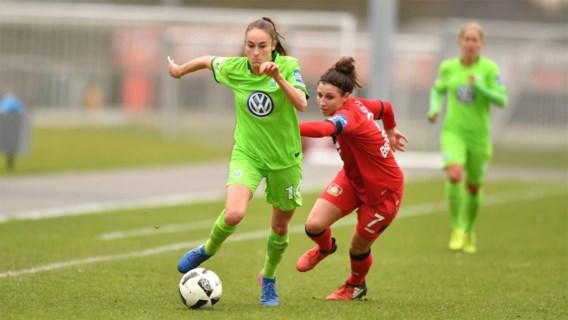 Halve finale Champions League ver weg voor Wolfsburg en Tessa Wullaert