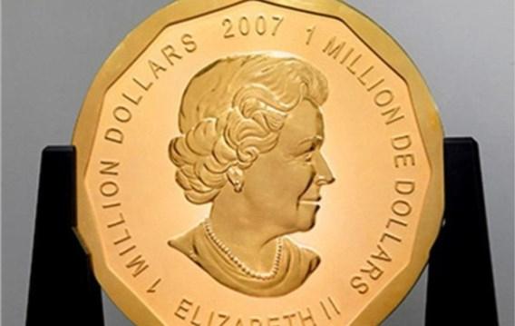 Gouden munt ter waarde van 3,7 miljoen gestolen uit museum