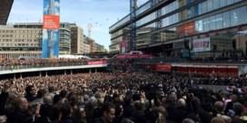 'Manifestatie voor de vrede' door 20.000 Zweden