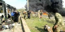 Zeker 112 doden bij bomaanslag op vluchtelingenkonvooi in Syrië