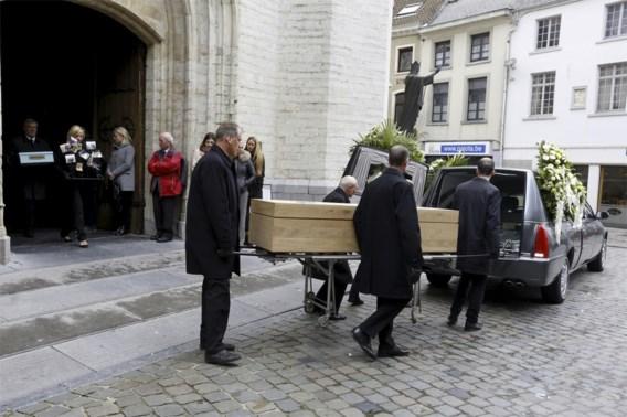 Afscheid van Belgisch slachtoffer aanslag Stockholm