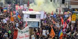 Agenten gewond bij protest tegen AfD in Keulen