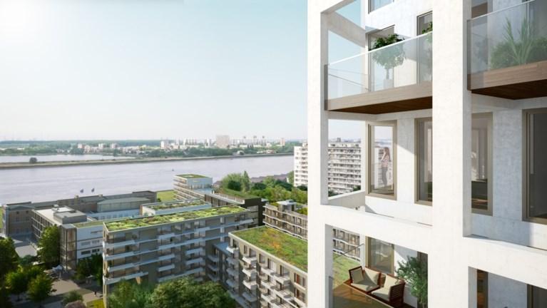 Antwerpen krijgt meest ecologische woontoren van Vlaanderen