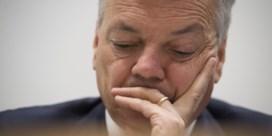 Politieke verantwoordelijkheid glijdt van Reynders als water van een eend
