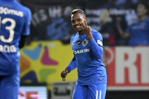Club Brugge dankzij hattrick Izquierdo langs Charleroi