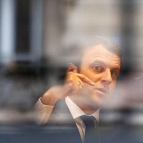 De vijf uitdagingen van Macron