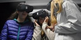 Leerlingen worden virtueel door trein gegrepen
