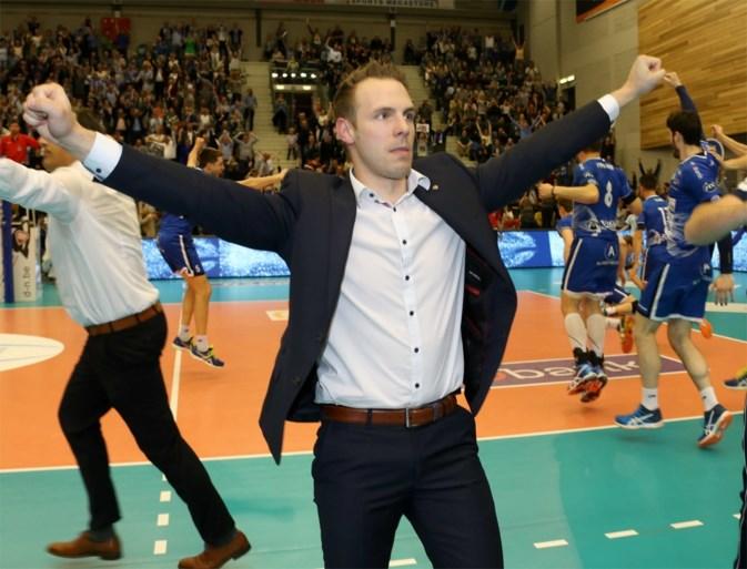 Roeselare is voor de vijfde keer op een rij landskampioen volleybal