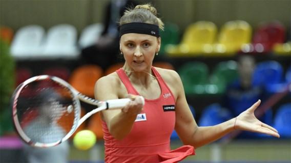 Belgische grijpt naast eerste WTA-titel in het dubbel
