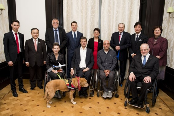 Anne d'Ieteren blijft voorzitter van Belgian Paralympic Committee