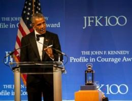 Obama betreurt afschaffen Obamacare zoals alleen hij het kan