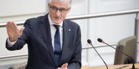 Bourgeois: 'Uitschrijven boetes maar niet innen, lost niets op'