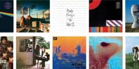 Stap in het artwork van Pink Floyd