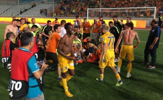 Igor de Camargo landskampioen met APOEL Nicosia