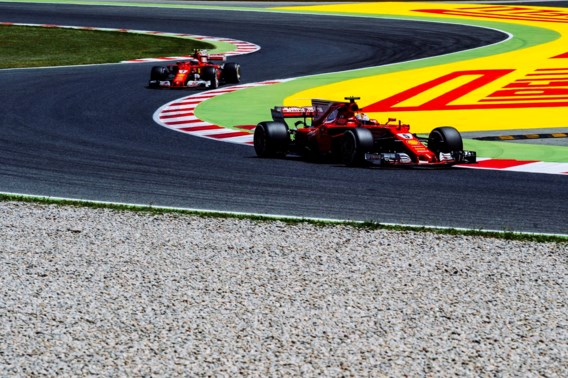 Ferrari bovenaan tijdens derde oefensessie In Spanje, Vandoorne voorlaatste