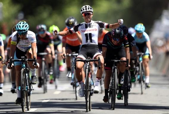 Ronde van Vlaanderen-winnares pakt etappewinst in Californië