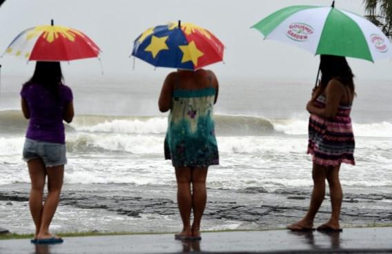 Terrasjesweer ruimt plaats voor regenbuien