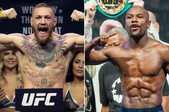 """Komt het ultieme gevecht er dan toch? """"MMA-vechter McGregor is akkoord, nu bokser Mayweather nog overtuigen"""""""