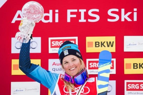 Zweedse skiester herstelt langzaam van zware crash