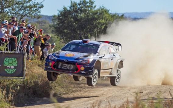 Neuville rijdt zevende chrono in shakedown Rally van Portugal