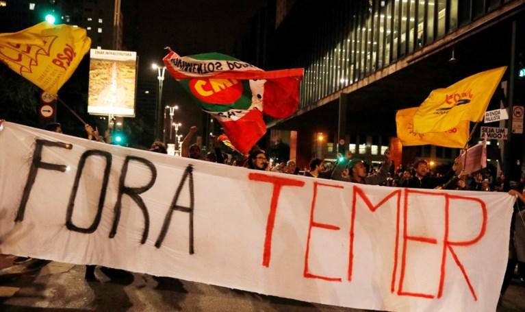 'Gesprek met Braziliaanse president over smeergeld opgenomen'