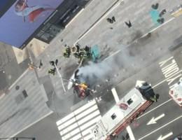 Beelden tonen ravage op Times Square