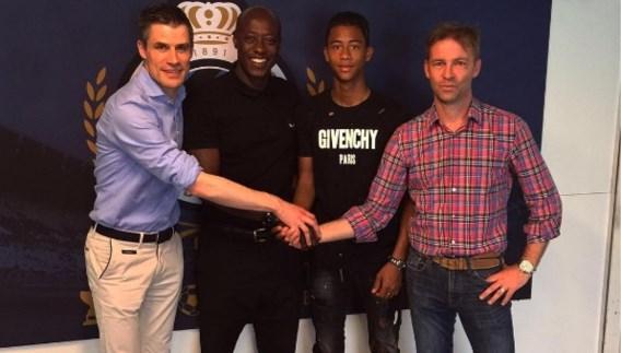 Noah Fadiga, zoon van Khalilou, tekent eerste profcontract bij Club Brugge