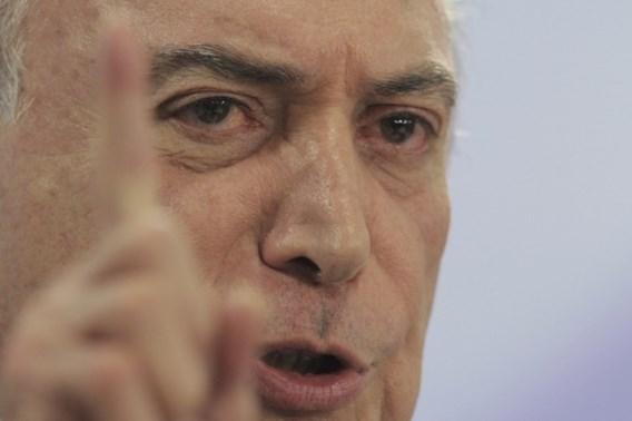 Braziliaanse president eist dat onderzoek tegen hem wordt stopgezet