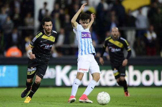 Jong Racing Genk kan laatste match Play-off 2 niet winnen bij Lokeren