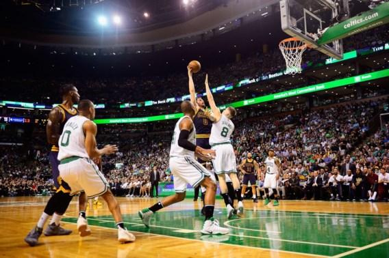 Cleveland is klasse te sterk voor Boston