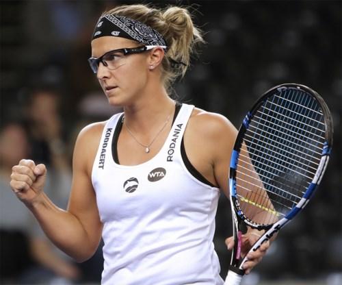 Kirsten Flipkens strandt in eerste kwalificatieronde WTA Madrid