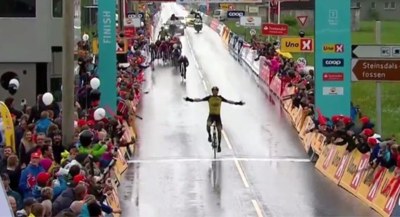 Nederlander Timo Roosen wint 2e rit Tour des Fjords, Dries Van Gestel pakt leiderstrui