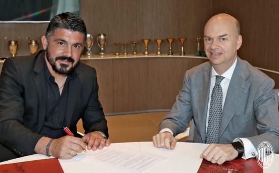 Gattuso keert terug naar ex-club AC Milaan